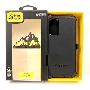 SGOTB Samsung S20 OtterBox Defender Case Cover. Belt Clip & Holster. Black Color. for Sale in Riverside, CA