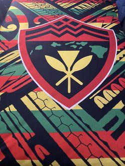Hawaii Rasta Tribal Sherpa Blanket for Sale in Temecula,  CA