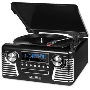 Record Player Vintage 50,s Style Multi Function Brand New!! for Sale in Los Angeles, CA