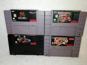 SUPER NINTENDO SNES DONKEY KONG COUNTRY STREET FIGHTER MORTAL KOMBAT 3 KILLER INSTINCT for Sale in Philadelphia, PA