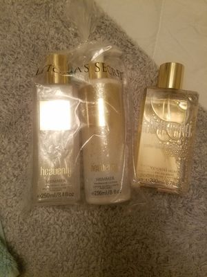 Heavenly fragrance mist, lotion and dry oil spray for Sale in Selma, CA