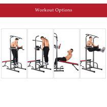 Power Tower with Push Up, Pull Up, and Dip Stations for Sale in Springfield, VA
