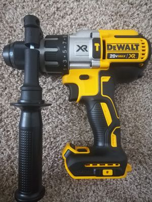 DeWalt 20 Volt-XR Brushless Hammer drill ( 3 speed ) for Sale in Houston, TX