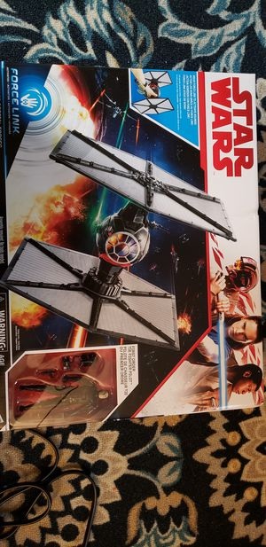 New Star Wars Tie Fighter with Fighter Pilot Figure. for Sale in Apopka, FL
