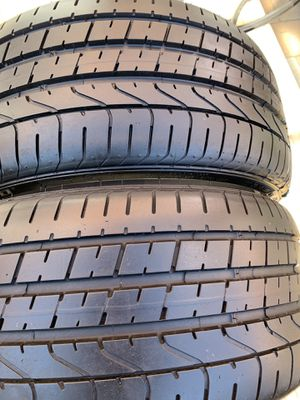 255 30 19 pirelli tires set of 2 for Sale in Manassas, VA