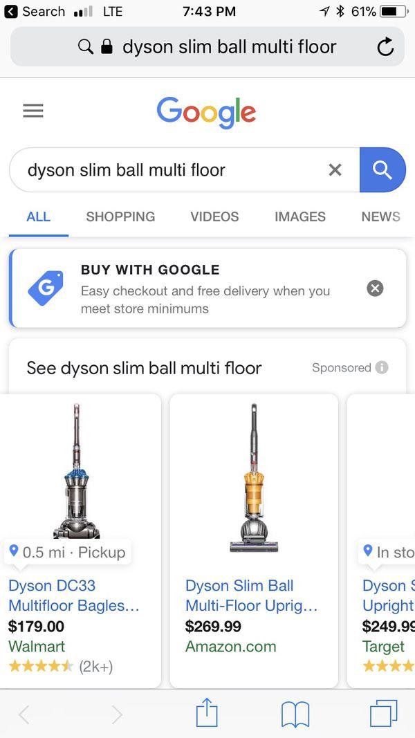 Dyson Slimball Multifloor Vacuum
