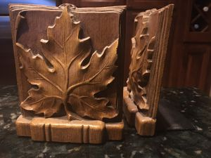 Vintage 1960 Burwood USA maple leaf bookends 925 for Sale in Menifee, CA