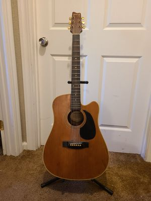 Samick electric acoustic guitar for Sale in Gridley, CA