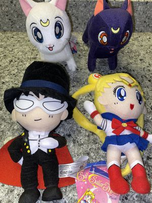 ✨Sailor Moon 🌙 Plushies for Sale in Houston, TX