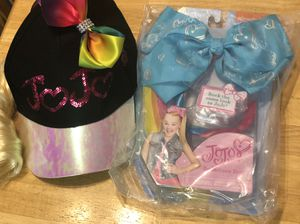 Nickelodeon Girls' JoJo Siwa Baseball Cap with Ponytail and hair bow for Sale in Redlands, CA