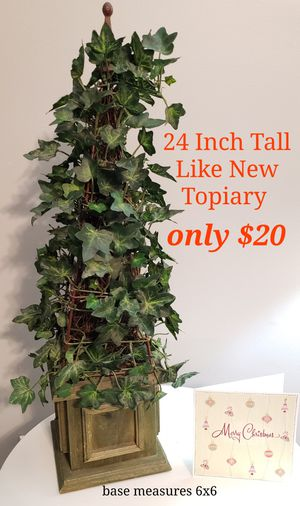 "24"" Beautiful Topiary in New Condition for Sale in Buford, GA"