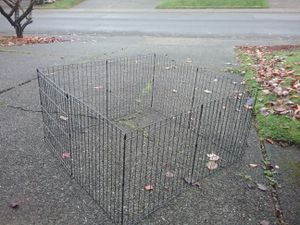 """Dog Playpen Kennel like New 48"""" by 48"""" by 24"""" High for Sale in Federal Way, WA"""
