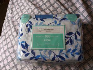Sabanad tsmsno king de 800 hilos e0 tengo dos por 50 for Sale in Miami, FL