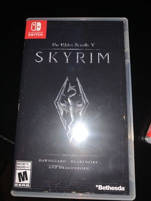 Skyrim ( Nintendo Switch ) for Sale in Zebulon, NC