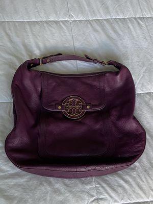 Tory Burch Purple Leather Hobo Shoulder Bag for Sale in Murfreesboro, TN