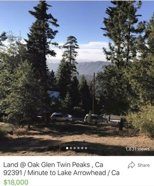 Land Near Lake Arrowhead very close for Sale in Irvine, CA
