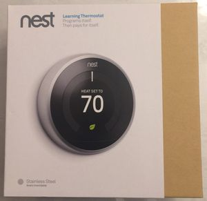 Nest Learning Thermostat for Sale in Westford, MA