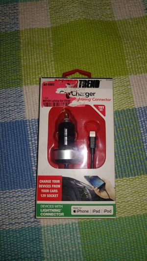 Lightning fast iphone car charger for Sale in Lynchburg, VA