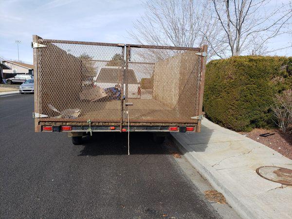 16 ×8 trailer heavy duty
