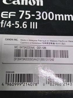 Canon Camera Lens New for Sale in Nashville,  TN