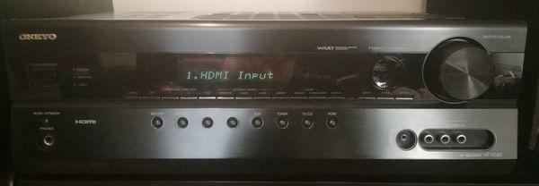 Onkyo HDMI AV Reciever Model HT-R580 7.1+ *quite clean*