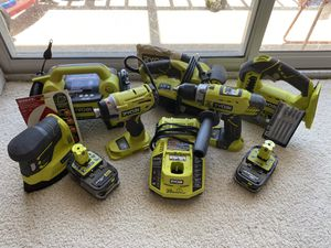 Ryobi 18v Tool Set for Sale in Davenport, FL