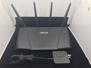 Asus AC2400 Dual Band Gigabit 4x4 Router for Sale in Houston, TX