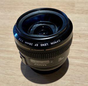Canon 28mm f1.8 Ultrasonic for Sale in Costa Mesa, CA