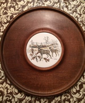Vintage wall decoration with deer for Sale in Solon, OH