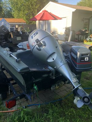Honda 15hp and Yamaha 8 hp for Sale in MENTOR ON THE, OH