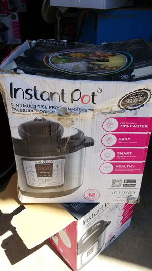 Instant Pot IP-LUX80 pressure cooker for Sale in Escondido, CA
