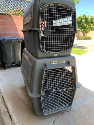Large and XL Airline approved dog kennels for Sale in Orange, CA