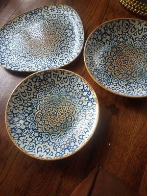 Gorgeous serving plates for Sale in Los Angeles, CA
