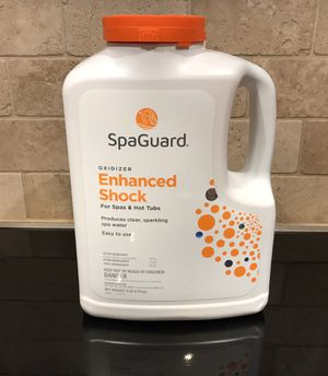 SpaGuard Oxidizer Enhanced Shock for Spas and Hot Tubs. 6 lbs. NEW/UNOPENED BOX for Sale in Fort Worth, TX