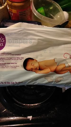 Parent choice newborn diapers for Sale in Saint Cloud, FL