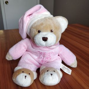 "Dan Dee 11"" Teddy Bear Plush Stuffed with JESUS LOVES ME Music Unit (Smoke Free, Norman) for Sale in Norman, OK"