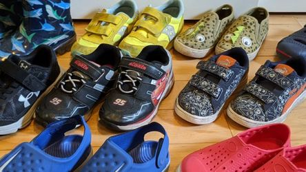 Boys Shoes Size 10/11 Sold Separately Or Bundle Price for Sale in Port Orchard,  WA