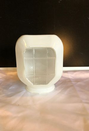 Antique Glass Light Cover for Sale in Jarrell, TX