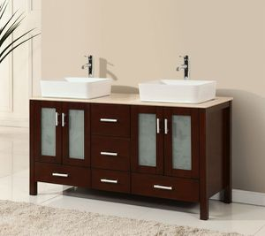 Bathroom vanity 2 Faucets INCLUDED! for Sale in Coral Springs, FL