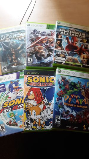 Xbox 360 games for Sale in Ontario, CA
