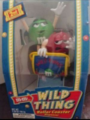 2002 M&M WILD THING ROLLER COASTER CANDY DISPENSER (SEE OTHER POSTS) for Sale in El Cajon, CA