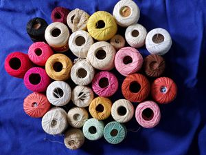 Crochet thread. Some unopened. Best offer for Sale in Puyallup, WA