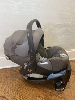 Cybex cloud Q platinum car seat Manhattan grey $325 for Sale in Skokie, IL