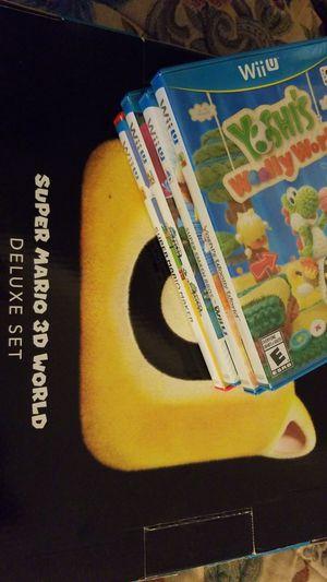 Nintendo Wii U Deluxe edition for Sale in Vienna, VA