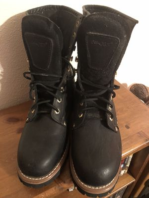 Ad Tec Steel Toe Work Boots Sz 9.5 for Sale in Banning, CA