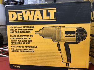 "DeWalt 1/2"" (13 mm) Reversing Impact Wrench with Hog Ring Retainer for Sale in Philadelphia, PA"