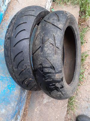 2 new moto tires for Sale in Wichita, KS