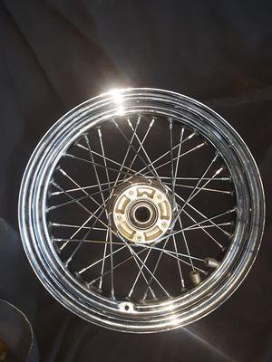 Harley Davidson front wheel for duel rotors. for Sale in Crestline, CA