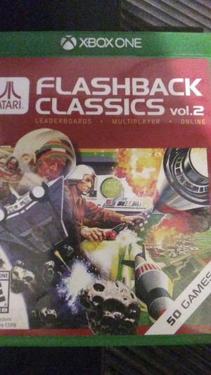 Xbox One. ATARI FLASHBACK CLASSICS VOL.2 for Sale in Chula Vista, CA