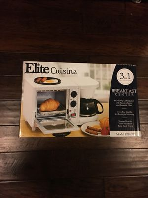 Elite cuisine 3in1 oven / coffee maker for Sale in Houston, TX